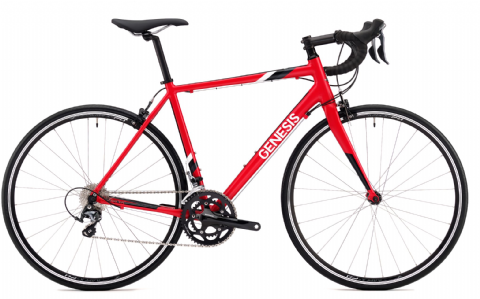 Genesis Delta 20 Road Bike Red 2018